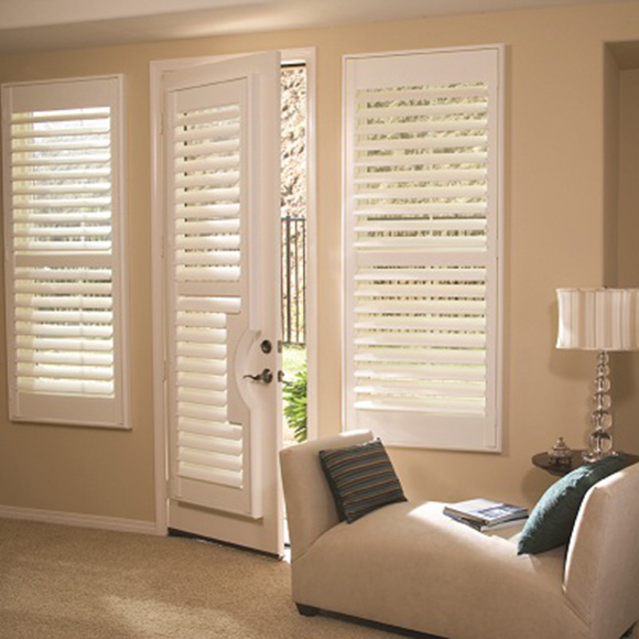French Doors interior shutters in Hull