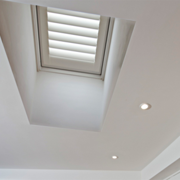 small interior skylight window shutters hull